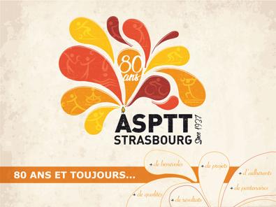 80 ans de l'ASPTT STRASBOURG