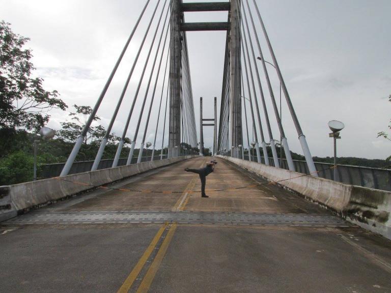 France - GUYANE  Pont St Goerges de l'Oiapoque 2017