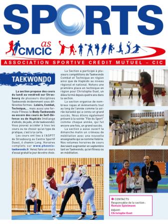 Article taekwondo strasbourg