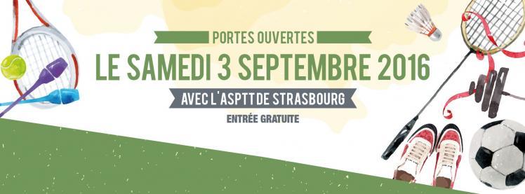 Portes ouvertes Asptt Strasbourg 2016