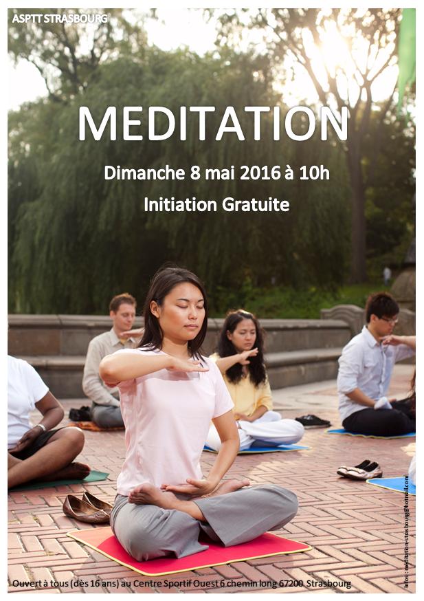 Meditation affiche