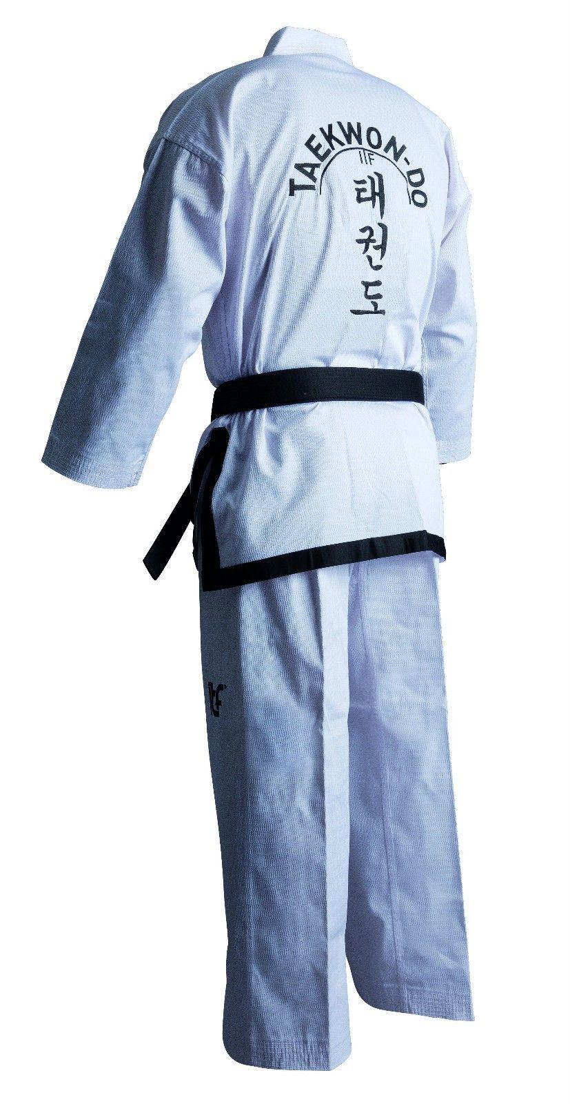 Taekwon do itf noir