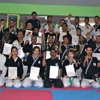 Echange Franco-Marocain Hapkido et Taekwondo 2014 (Fès)