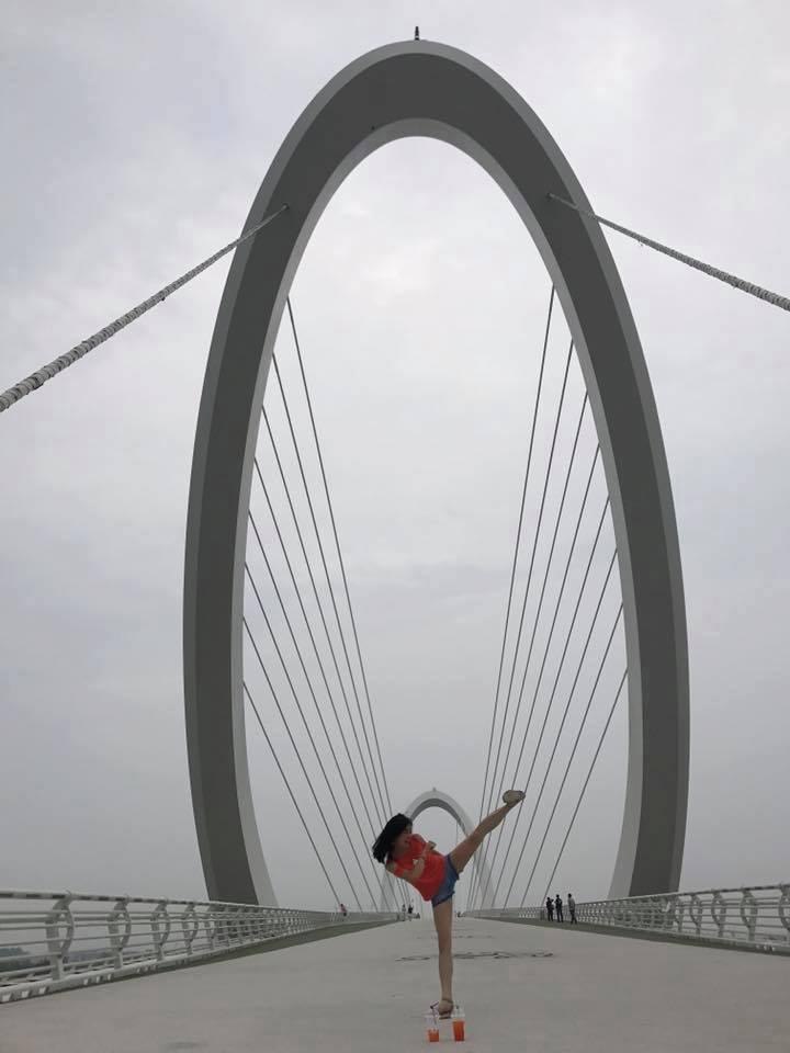 Chine Du Pont d'Oeil de Nanjing 2017