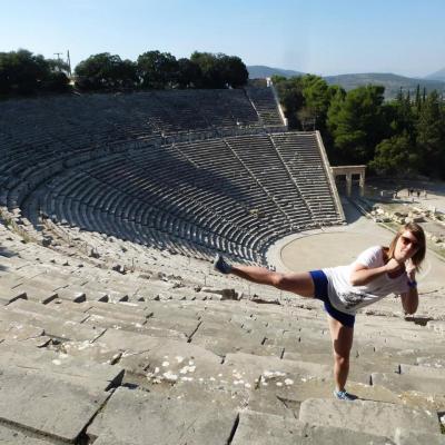 Grèce théatre d'Epidaure 2015