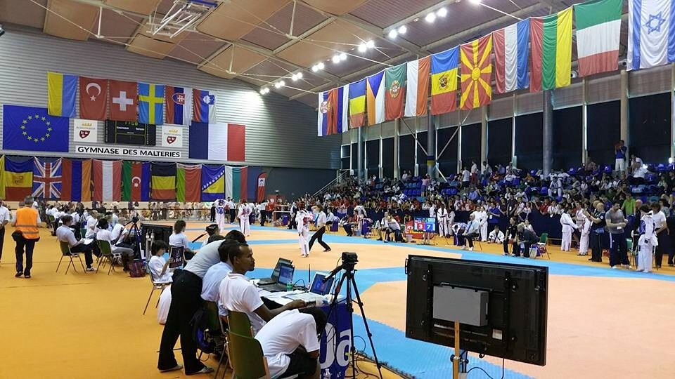 40 nations en compétition