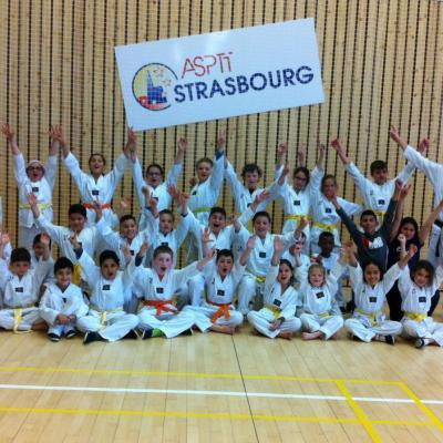 Cours Enfants Loisirs Taekwondo Strasbourg ASPTT Phoenix