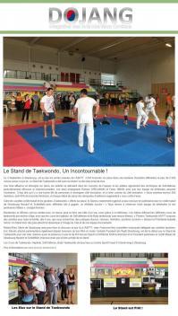 Article dojang portes ouvertes